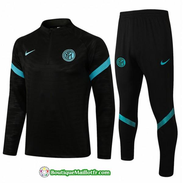 Survetement Inter Milan 2021 2022 Noir
