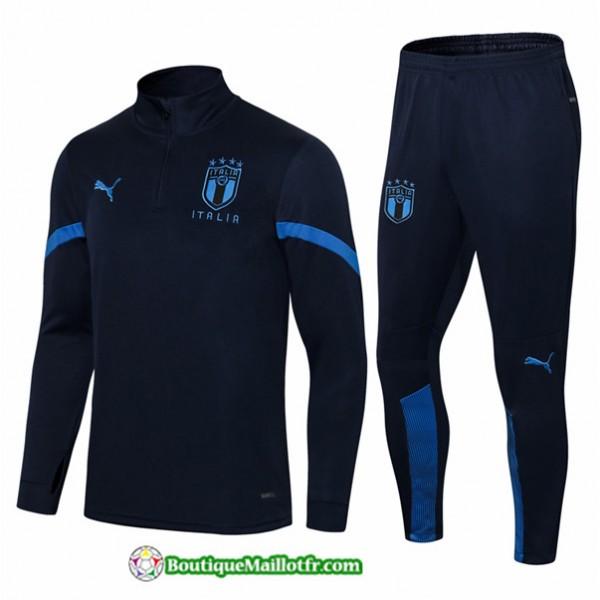 Survetement Italie 2021 2022 Bleu Marine