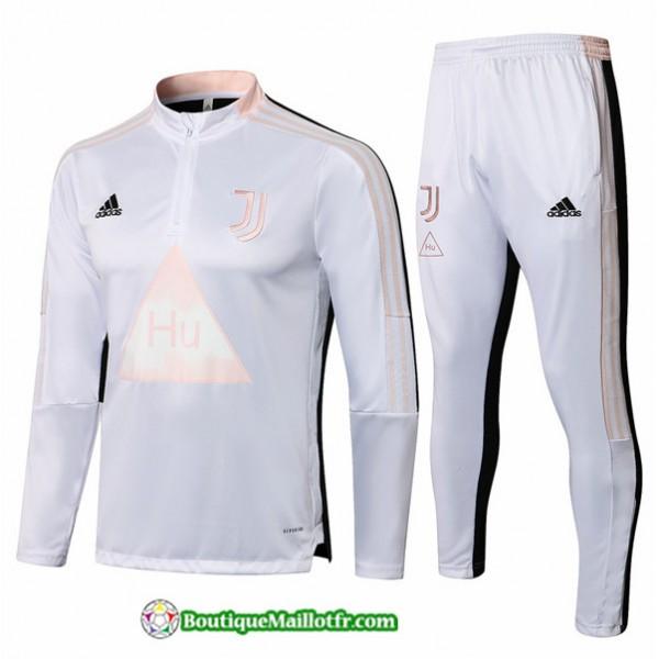 Survetement Juventus 2021 2022 Blanc
