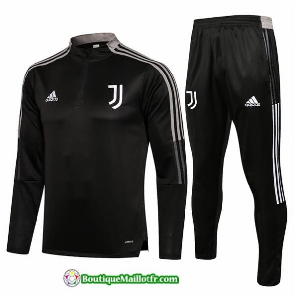 Survetement Juventus 2021 2022 Gris Foncé