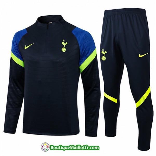 Survetement Tottenham Hotspur 2021 2022 Bleu Marin...