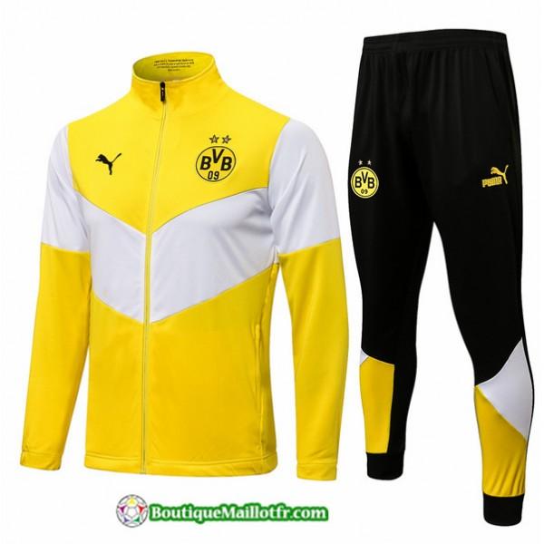 Veste Survetement Borussia Dortmund 2021 2022 Jaun...