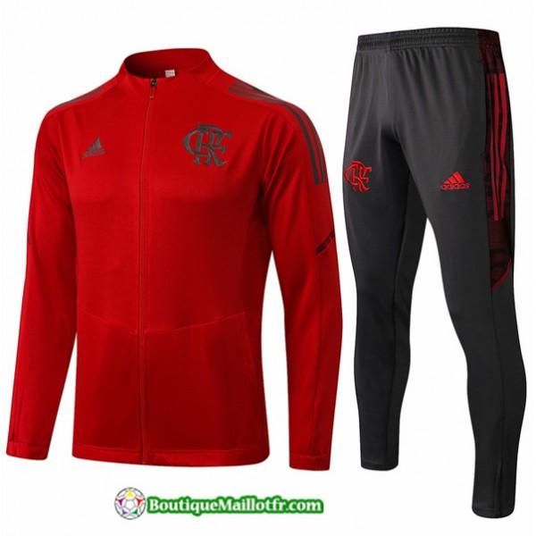 Veste Survetement Flamengo 2021 2022 Rouge