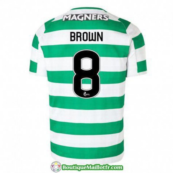 Maillot Celtic Brown 2018 2019 Domicile