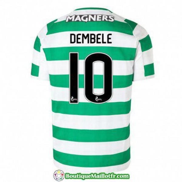 Maillot Celtic Dembele 2018 2019 Domicile