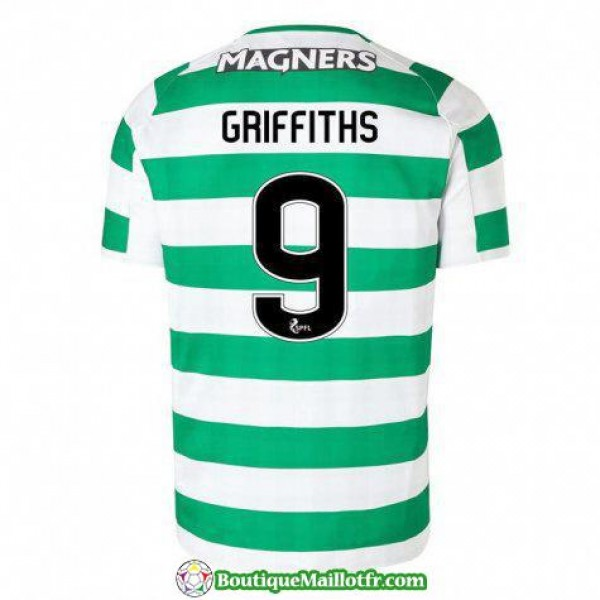 Maillot Celtic Griffiths 2018 2019 Domicile