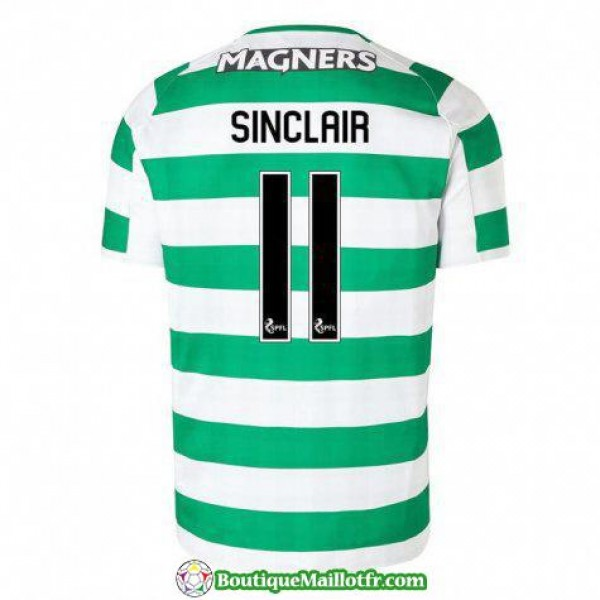 Maillot Celtic Sinclair- 2018 2019 Domicile