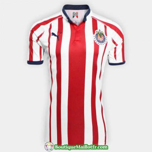 Maillot Chivas De Guadalajara 2018 2019 Domicile