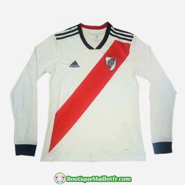 Maillot River Plate Manche Longue 2018 2019 Domici...