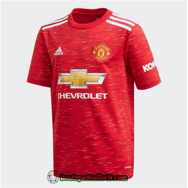 Maillot Manchester United 2020 2021 Domicile