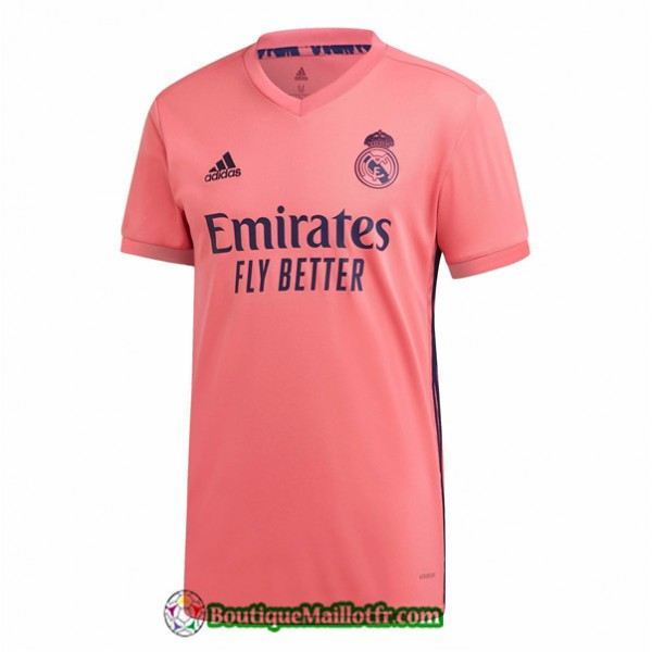 Maillot Real Madrid 2020 2021 Exterieur Orange