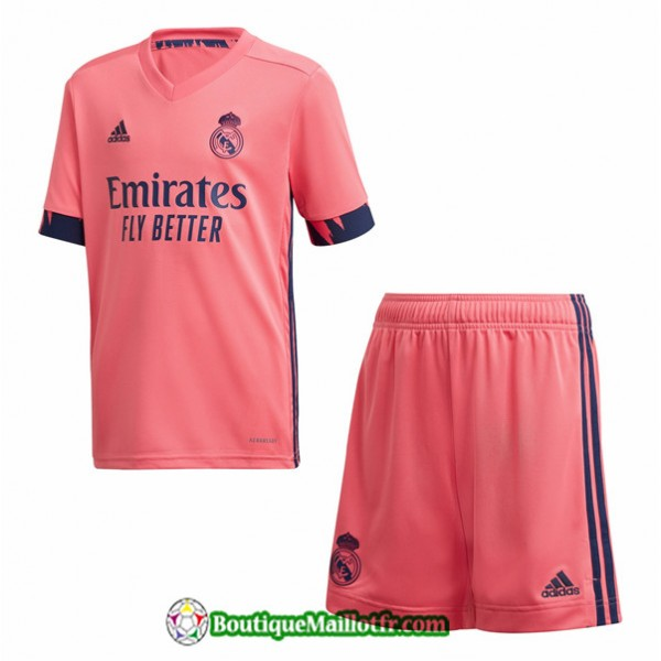 Maillot Real Madrid Enfant 2020 2021 Exterieur Ora...