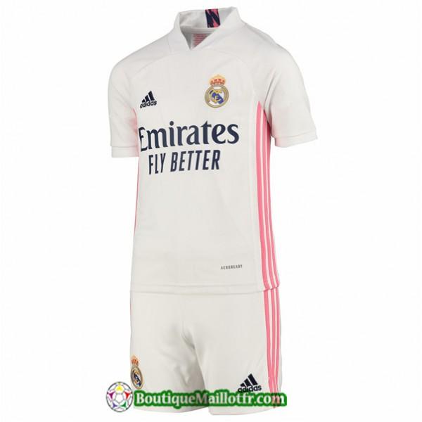 Maillot Real Madrid Enfant 2020 2021 Domicile