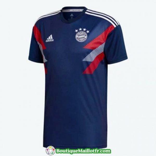 Maillot Bayern Munich Entrainement 2018 2019 Bleu Marine