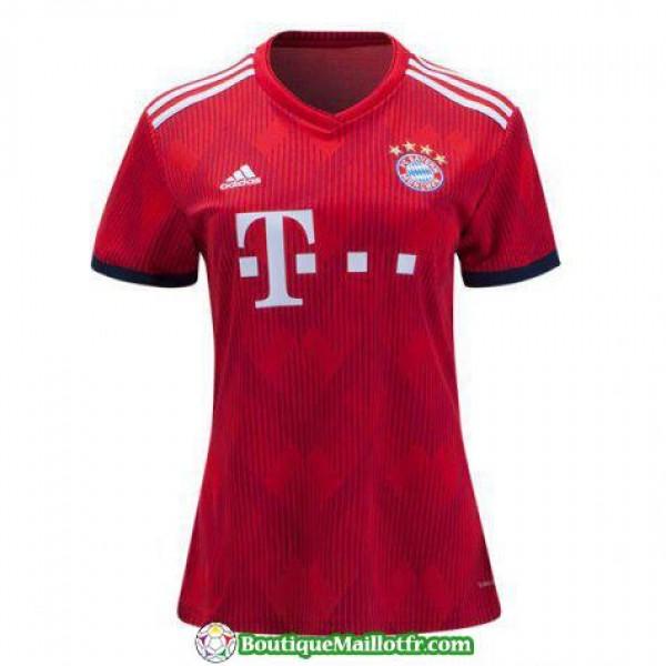Maillot Bayern Munich Femme 2018 2019 Domicile