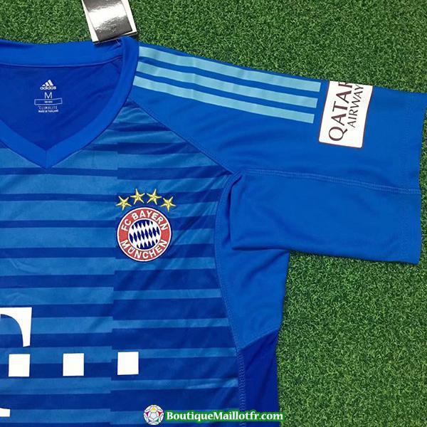 Maillot Bayern Munich Gardien 2018 2019 Bleu