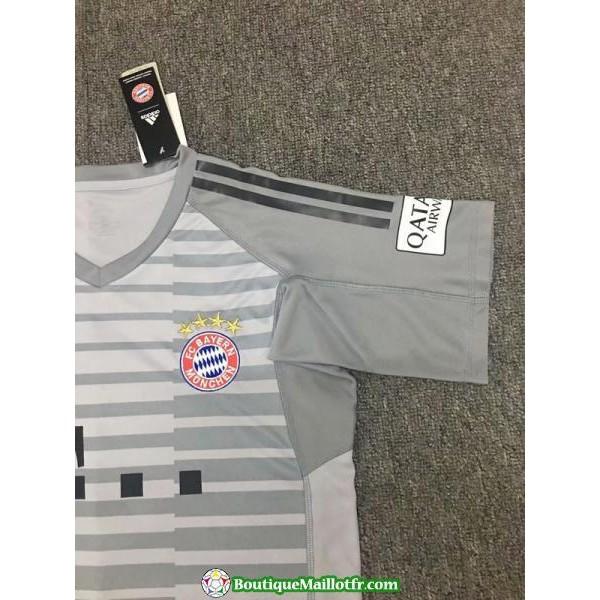 Maillot Bayern Munich Gardien 2018 2019 Gris