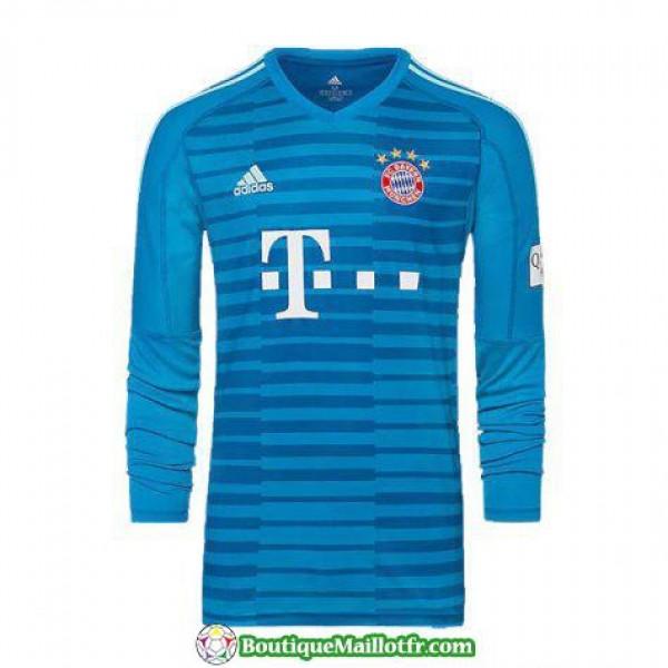 Maillot Bayern Munich Gardien Manche Longue 2018 2...