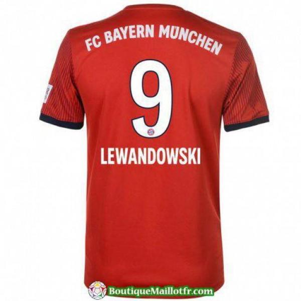 Maillot Bayern Munich Lewandowski 2018 2019 Domicile