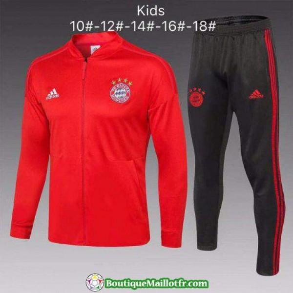 Veste Bayern Munich Enfant 2018 Ensemble Complet R...