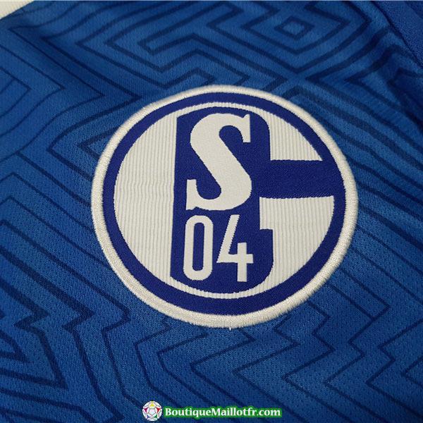 Maillot Schalke 04 2018 2019 Domicile