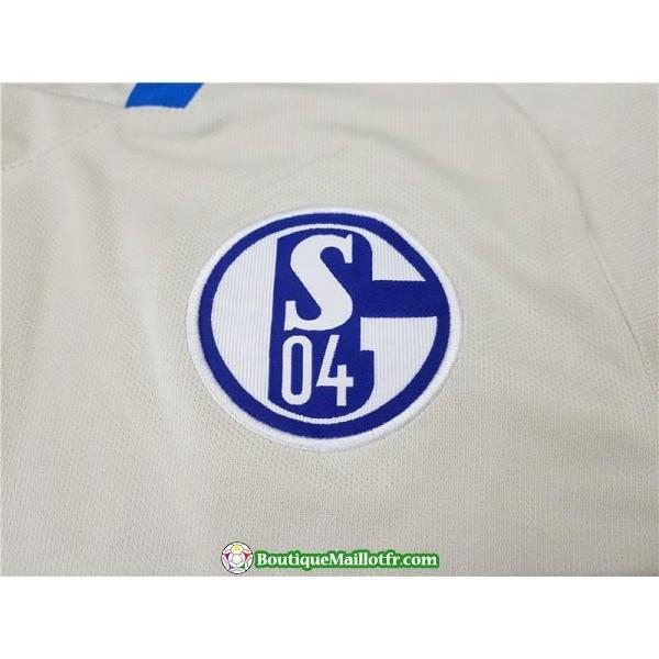 Maillot Schalke 04 2018 2019 Exterieur