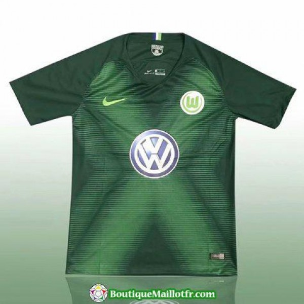 Maillot Wolfsburg 2018 2019 Domicile