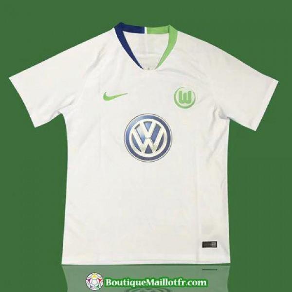 Maillot Wolfsburg 2018 2019 Exterieur