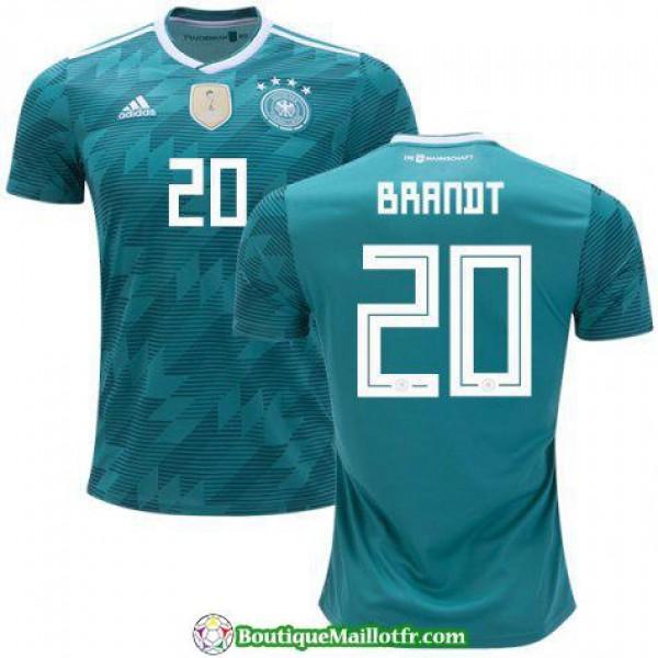 Maillot Allemagne Brandt 2018 Exterieur
