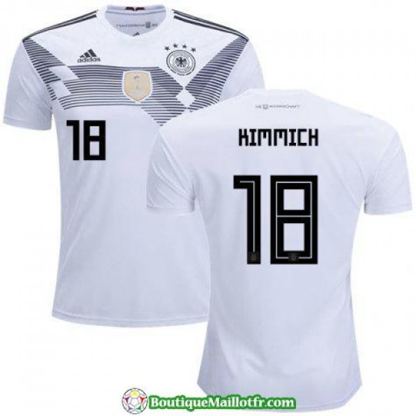 Maillot Allemagne Kimmich 2018 Domicile