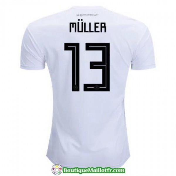 Maillot Allemagne Muller 2018 Domicile