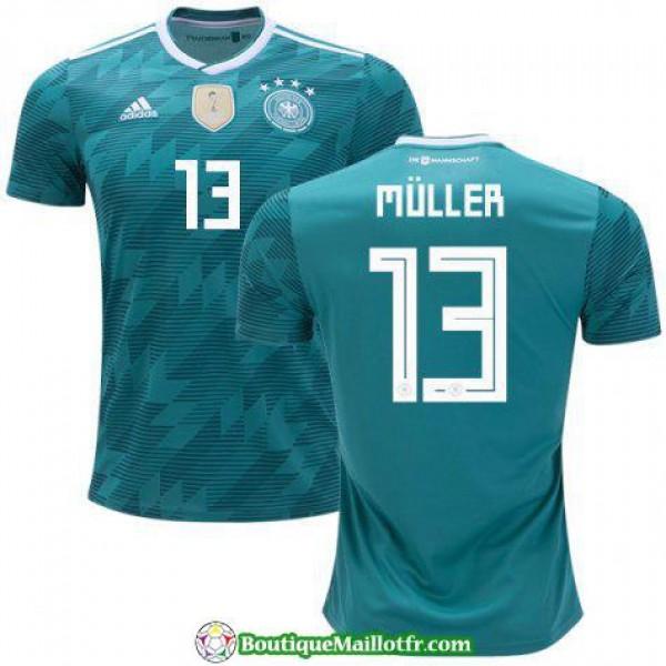 Maillot Allemagne Muller 2018 Exterieur