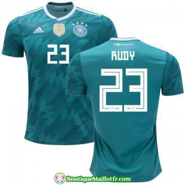 Maillot Allemagne Rudy 2018 Exterieur