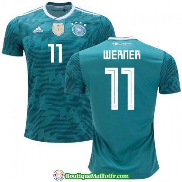 Maillot Allemagne Werner 2018 Exterieur