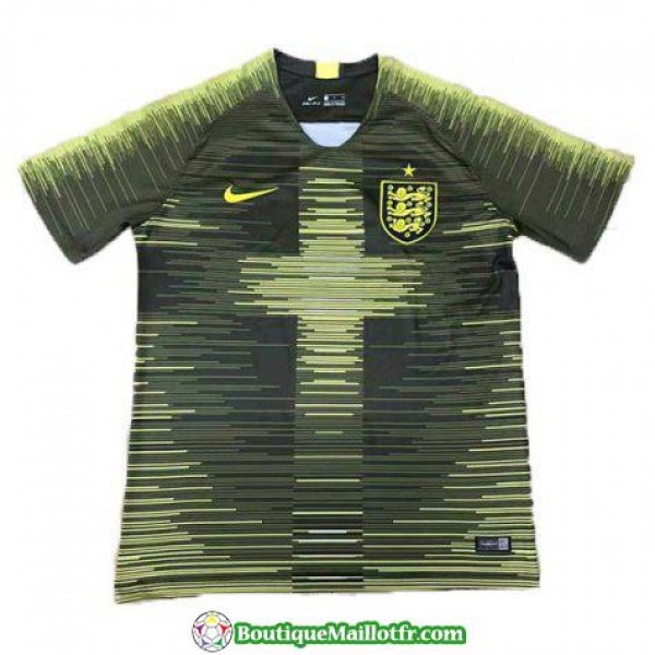 Maillot Angleterre Entrainement 2018 2019 Vert