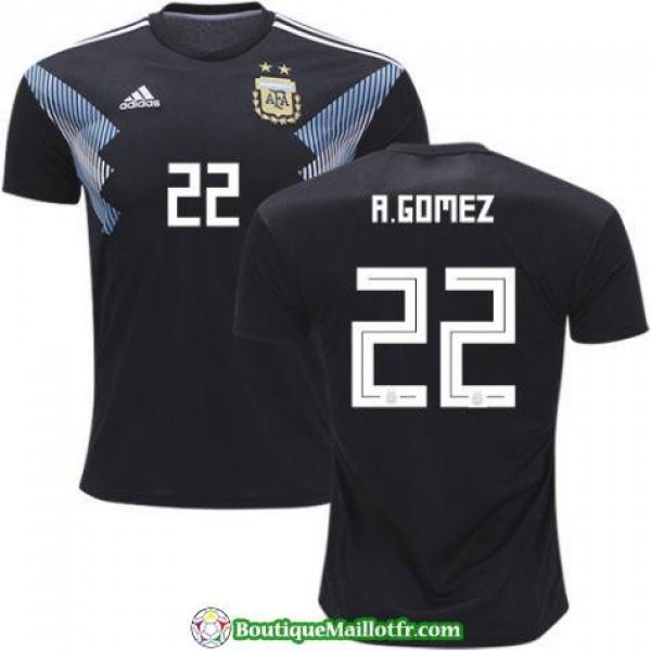 Maillot Argentine A Gomez 2018 Exterieur