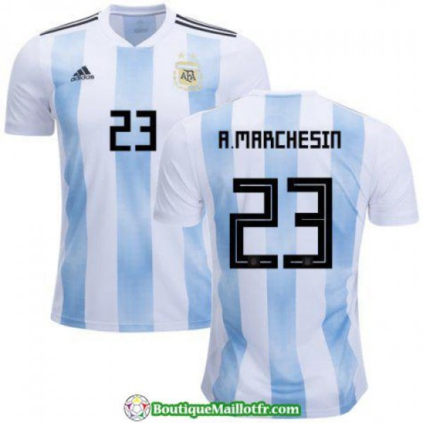 Maillot Argentine A Marchesin 2018 Domicile