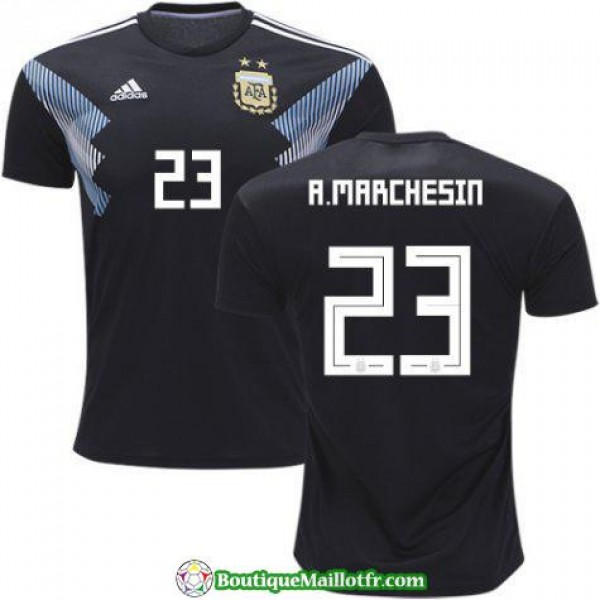 Maillot Argentine A Marchesin 2018 Exterieur