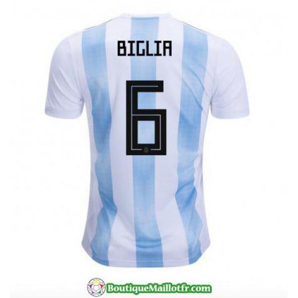 Maillot Argentine Biglia 2018 Domicile
