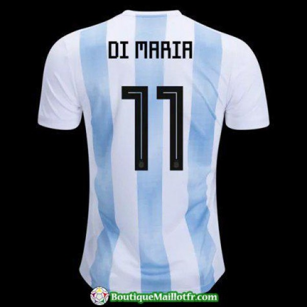 Maillot Argentine Di Maria 2018 Domicile