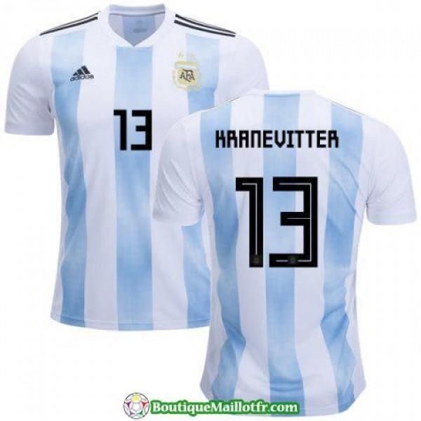 Maillot Argentine Kranevitter 2018 Domicile