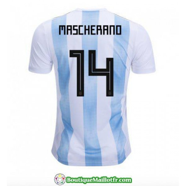 Maillot Argentine Mascherano 2018 Domicile