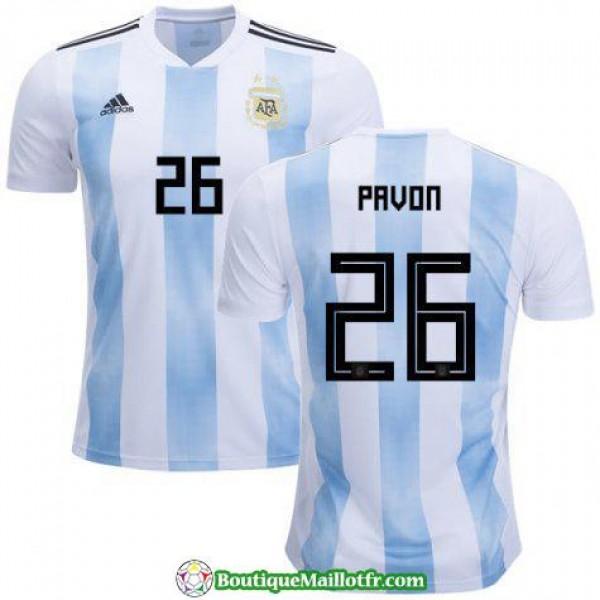 Maillot Argentine Pavon 2018 Domicile