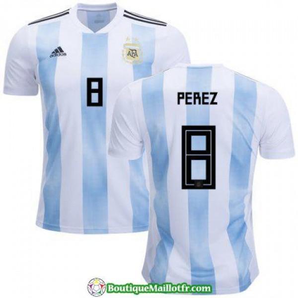 Maillot Argentine Perez 2018 Domicile