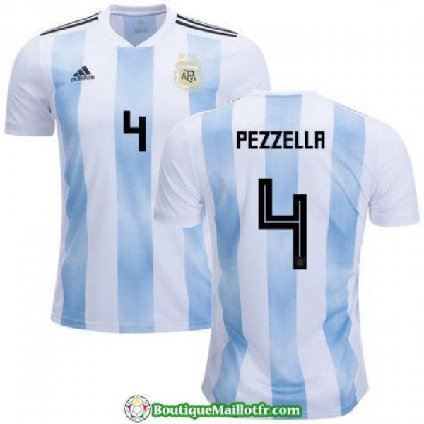 Maillot Argentine Pezzella 2018 Domicile