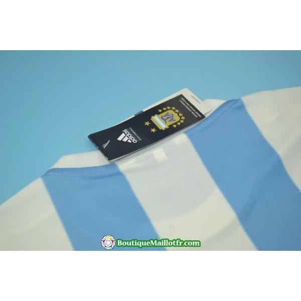 Maillot Argentine Retro 1978 Domicile