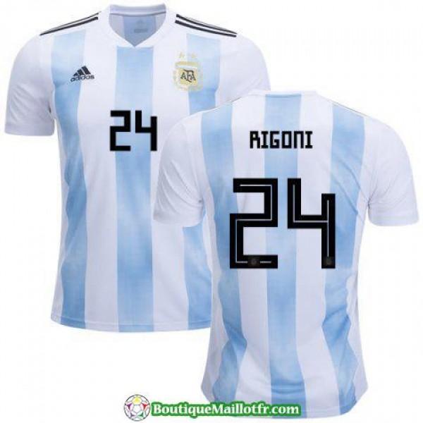 Maillot Argentine Rigoni 2018 Domicile