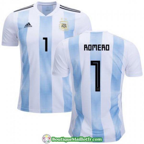 Maillot Argentine Romero 2018 Domicile