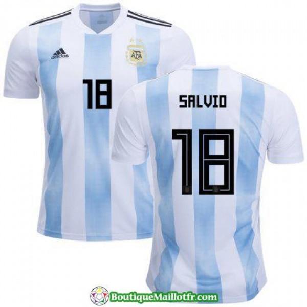 Maillot Argentine Salvio 2018 Domicile