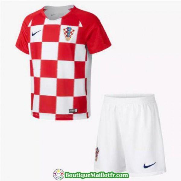 Maillot Croatie Enfant 2018 Domicile